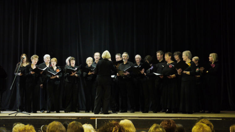 Performing in Farnham